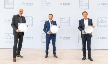 Bosch eröffnet Chipfabrik in Dresden