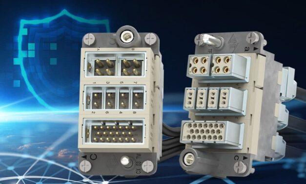 Modulare Steckverbinder für geschützte Datenübertragung