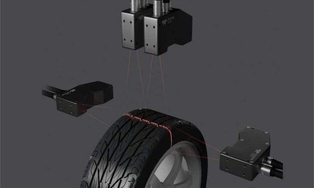3D-Profilsensor mit bis zu 45.000 Profilen/s