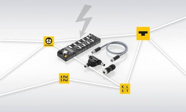 Turck: Durchgängiges M12-Power-Portfolio