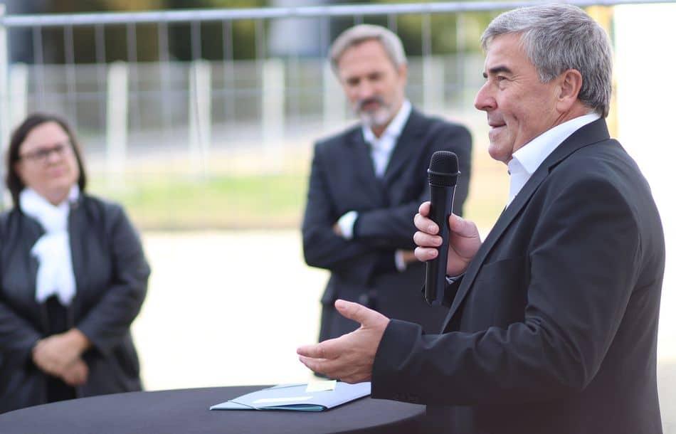 ABB: Spatenstich für neue Produktionshalle in Minden